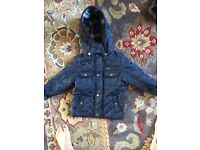 TU barber style coat 2-3 boys