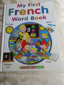 My First French Word Book (English and French) Hardcover