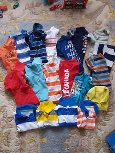 Boys shorts and t-shirts. Size 3
