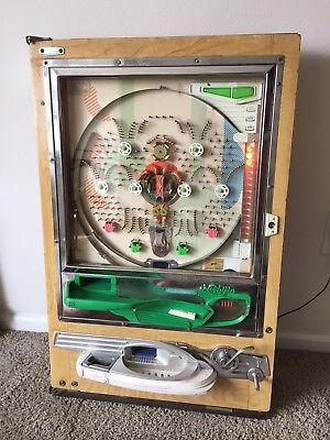 Vintage Nishijin Early Model B Pachinko Machine-  – It works