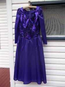 Robe style princesse 12-13ans violet ♥