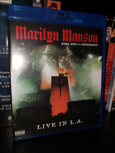 Marilyn Manson: Guns, God and Government Blu-ray DVD Show Live