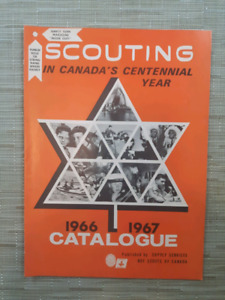 Vintage Canadian Scouting Magazines
