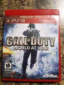 Call Of Duty: World At War PS3