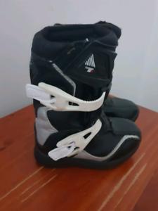 Fox Comp 5 Peewee Boots USA K10 EU 27.5