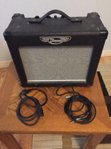 Traynor Guitar Amplifier - Cables included