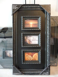 3 - BLACK PHOTO FRAMES