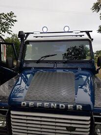 Land Rover 110 Defender hard top td5 2002