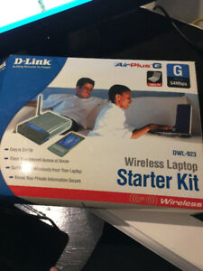 $10.00 -D-LINK Wireless Laptop kit - extra router -wireless card