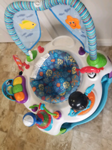 FREE baby exersaucer