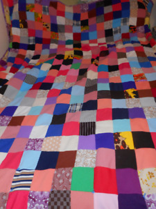 hand made quilts single and double