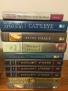 A GREAT MARGARET ATWOOD collection of books