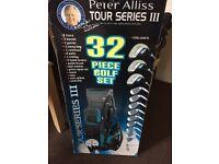 Peter Alliss 32 piece golf set
