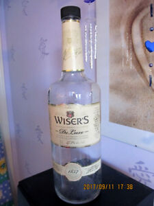 3 Litre Empty Whisky Bottle