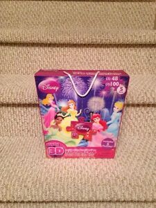 "New ""Disney"" 5 Pack Super 3D Puzzles"