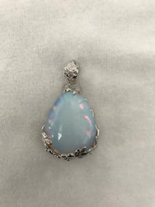Large Tear Drop Opal pendant