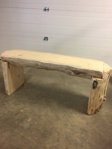 Log Benches $250/Bench (3 currently available)