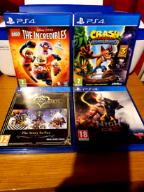 4 *PlayStation 4 games *