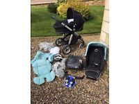 ICandy Apple Pram and Pushchair with lots of extras
