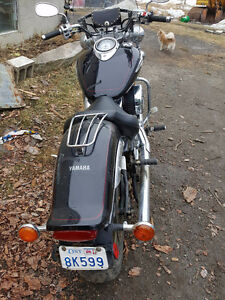 YAMAHA VSTAR (Low Miles) Lots of Chrome!