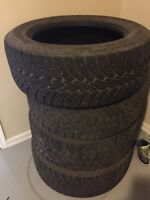 Goodyear UltraGrip Ice studded winter tires