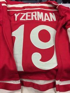 Yzerman Detroit Winter Classic Jersey