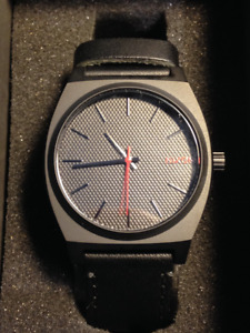 Nixon 'Time Teller' Stainless Steel Casual Watch