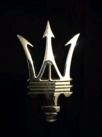 Maserati car mascot