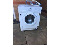 Integrated washing machine ikea renlig