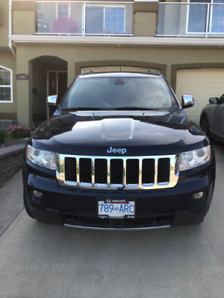 2012 Jeep Grand Cherokee Overland Edition
