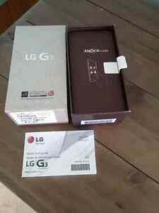 Lg g3 32gb cell phone with box