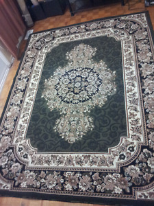 "Rug size ------124"" x 95"" -Wonderful design and thick ----Price"