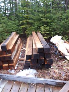 hemlock timbers