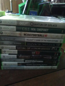 HUGE LOT OF XBOX 360 GAMES - UNDER $2 EACH