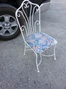 Nice wrought iron chair