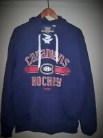SIZE M : COTON OUATÉ MONTREAL CANADIENS HOODIE REEBOK NHL HOODY City of Montréal Greater Montréal Preview