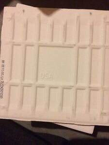 White standard sized bathroom wall tiles - 49 best offer London Ontario image 2