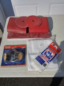 Papier et accessoires de sablage à plancher NEUF