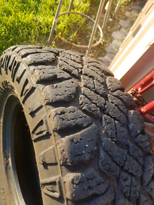 Used LT265 70 17 Goodyear duratrax.