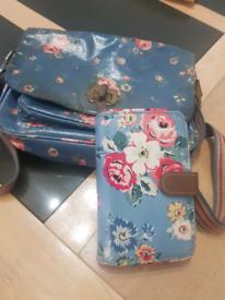 Cath kidston bag and purse