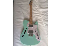 Fender Telecaster Thinline 72 Re issue FSR Sea Foam Green Factory Special Edition RRP £1099 as new