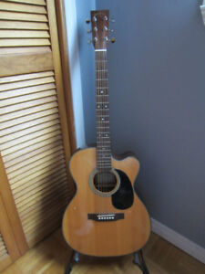 Martin\ Sigma Acoustic Cutaway Guitar for Sale REDUCED PRICE!!!