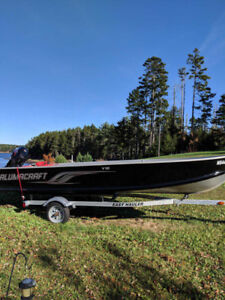 16ft ALUMACRAFT BOAT + TRAILER PKG