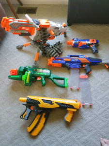 NERF Collection!