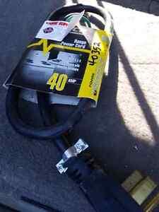 Range power cord - new