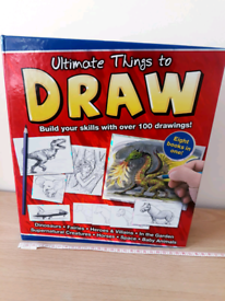 Ultimate Things To Draw Art Book (8 In One) New