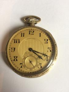 Antique Longines/Mappin Webb pocket watch 1923