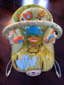 Fisher Price Swing,   Bouncy Chair