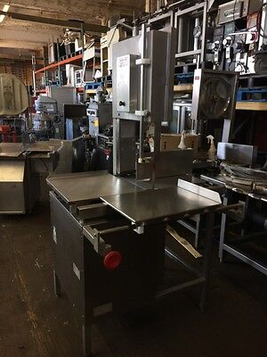 Hollymatic Hy16 Bone Meat Fish Saw Full Size Singel Phase 220volts Just Serviced