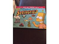 The Simpsons guide to Springfield book